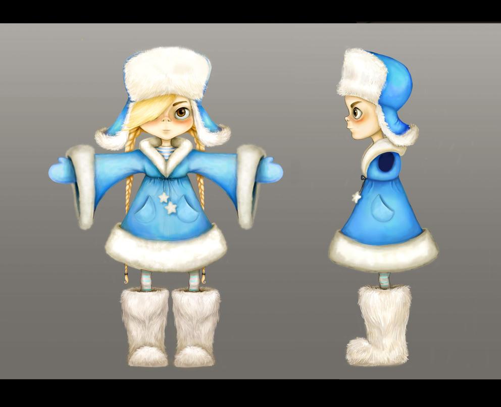 Snow Girl by Anuk
