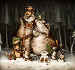 Christmas time by Anuk