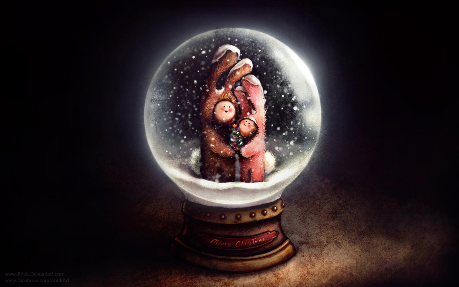 Snow Globe by Anuk