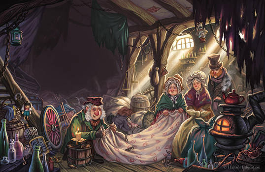A Christmas Carol illustrations