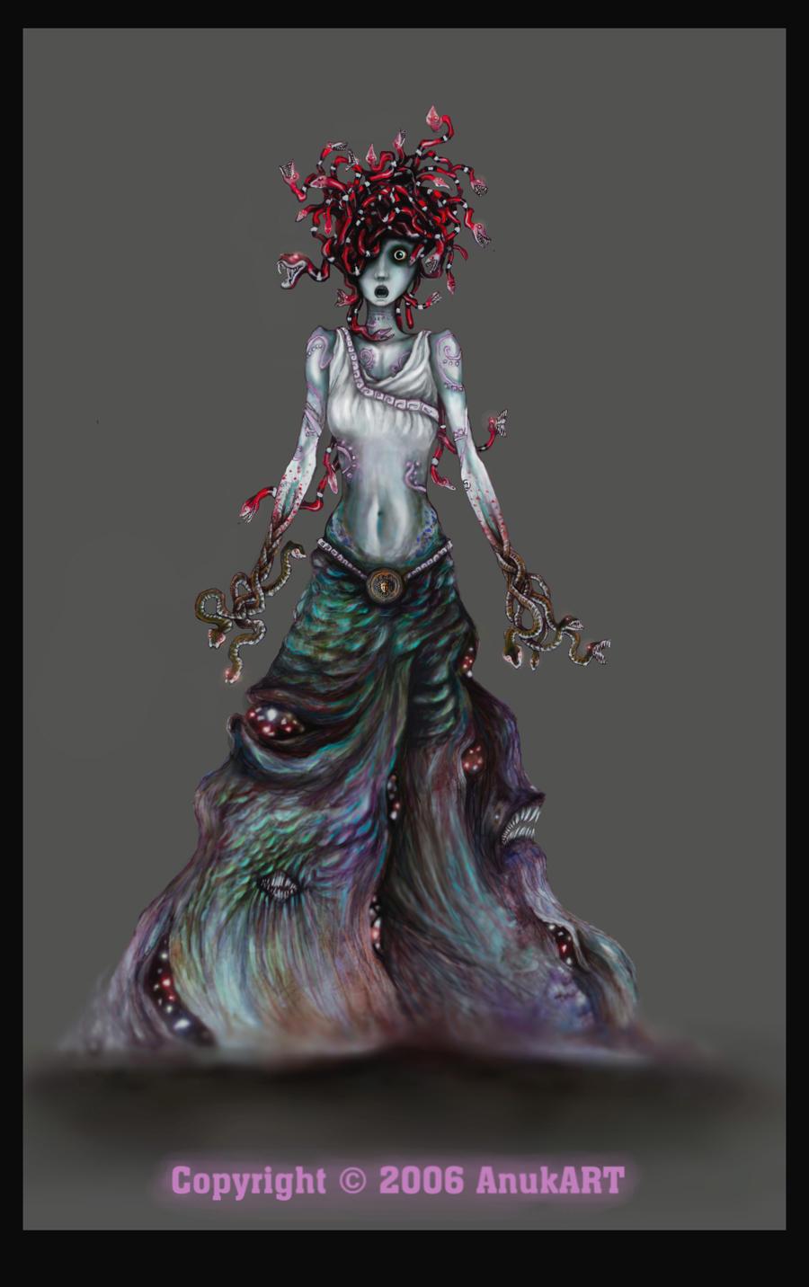 meduza gorgona by Anuk