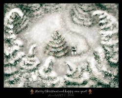 Christmas Card by Anuk