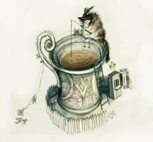 cup of tea by Anuk