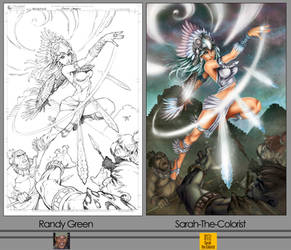 Wolalina-Side-By-Side by Sarah-The-Colorist