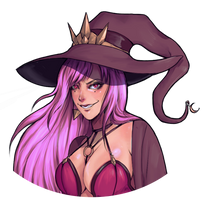 Witch Lucy PNG Stach by lokiisart