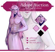 ADOPT AUCTION #13: Pastel Naga (OPEN!) by lokiisart