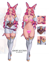 ADOPT AUCTION: Bunny Adventurer (CLOSED!) by lokiisart