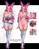 ADOPT AUCTION: Bunny Adventurer (OPEN!) by lokiisart