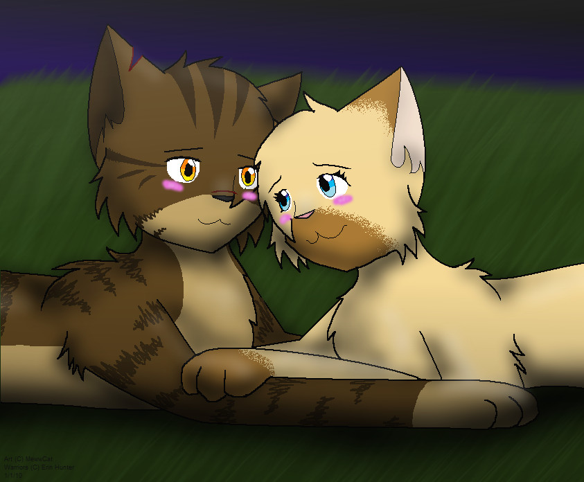 Tigerstar and Sasha by Meww-Yum