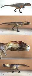 Repainted Eofauna Giganotosaurus by Martin Garratt by IrritatorRaji