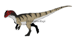 Dinovember Day 1: Allosaurus by IrritatorRaji