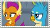 Galloder Stamp by MoonlightTheGriffon