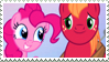 Pinkiemac Stamp by MoonlightTheGriffon