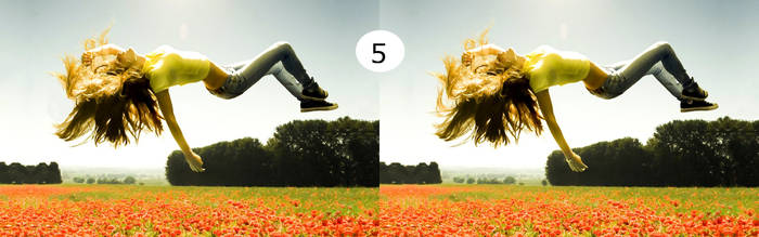 5 differences, find them. by alexisshall
