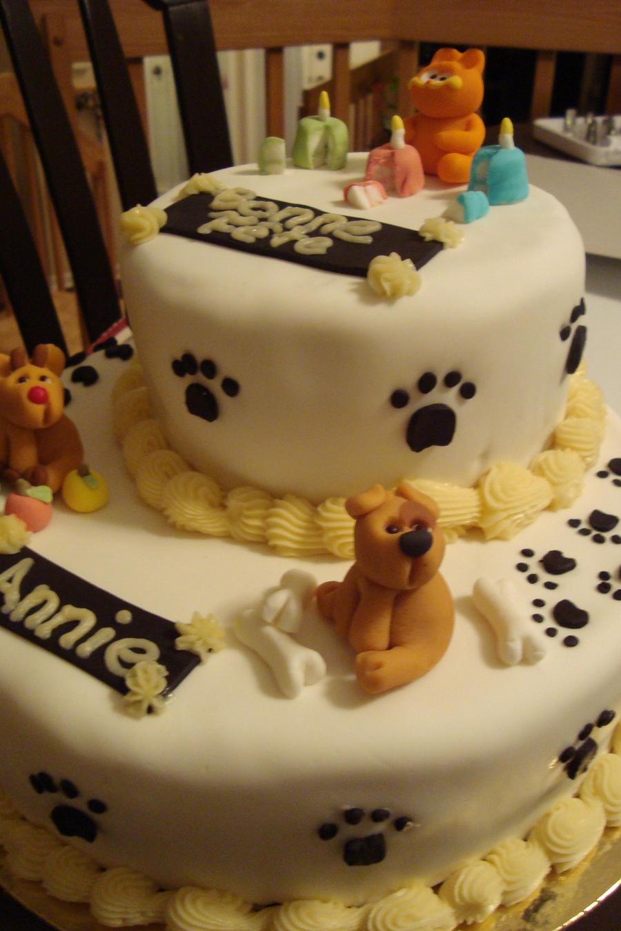 Birthday cake with animals 2 by manga-fire-24