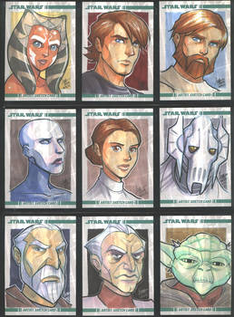 SW The Clone Wars 001-009