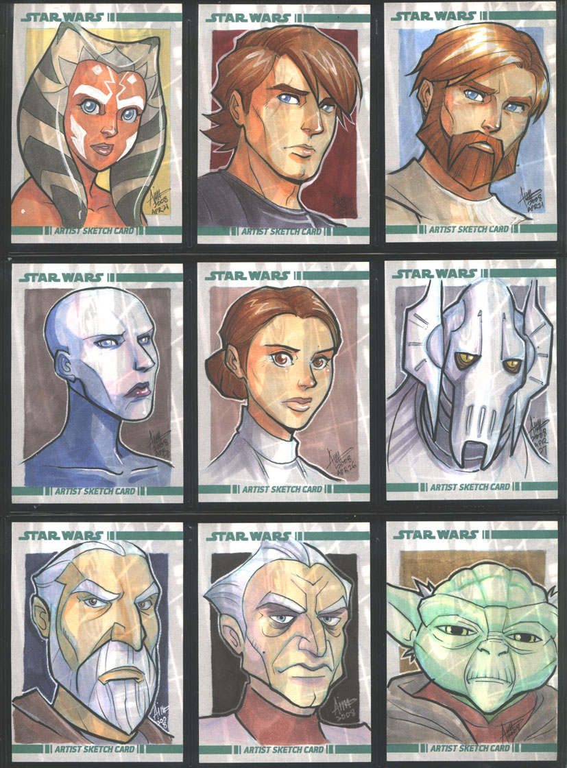 SW The Clone Wars 001-009 by aimo