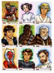 Star Wars Galaxy 4 001-009