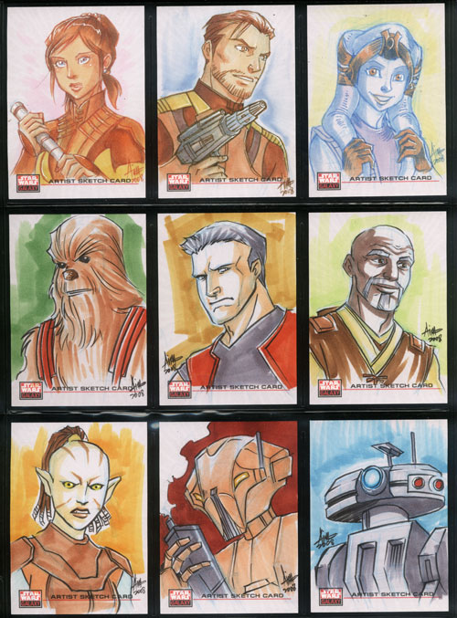 Star Wars: Knights of the Old Republic character art by aimo