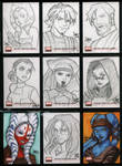 Star Wars Galaxy 4 154-162