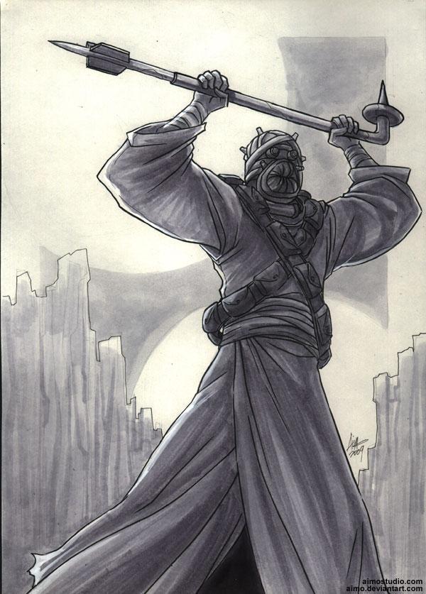 Tusken Raider by aimo