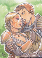 PSC - Alistair and Cousland by aimo