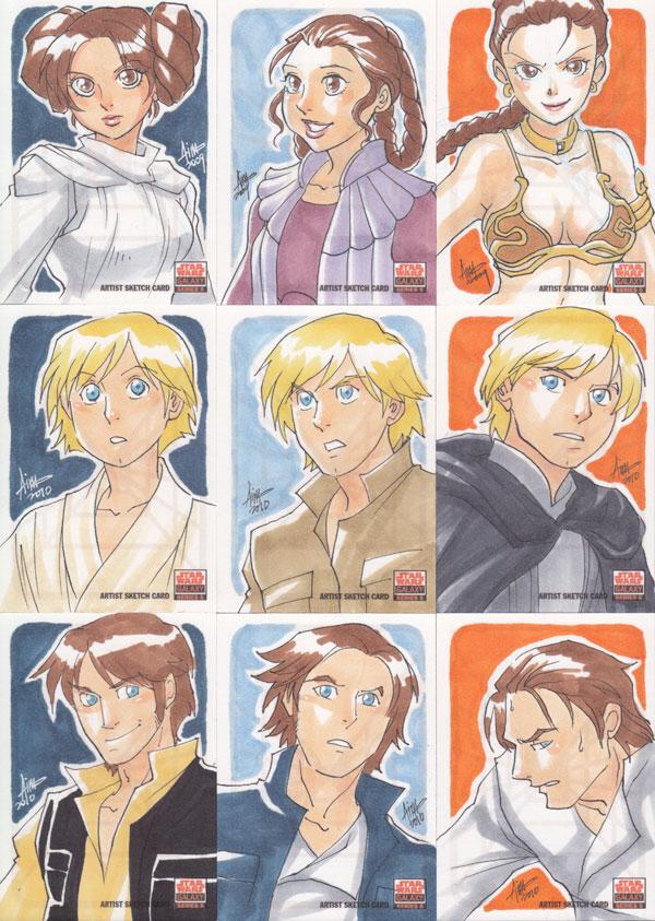 Star Wars Galaxy 5 - 001-009