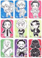 Star Wars Galaxy 5 - 010-018 by aimo