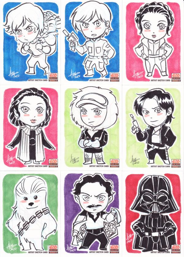 Star Wars Galaxy 5 - 010-018