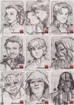 Star Wars Galaxy 5 - 082-090