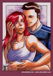 PSC - Kaidan and Shepard
