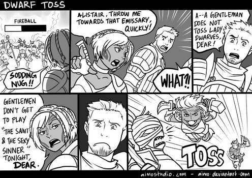 DA - Dwarf Toss by aimo