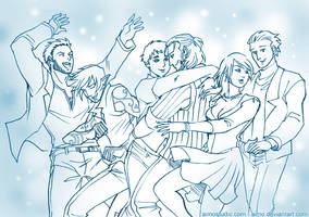 DA2 - Dancing to Teenage Dream by aimo