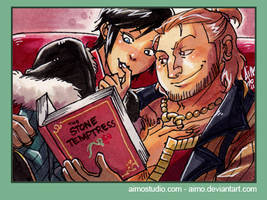DA2 - Reading Together by aimo