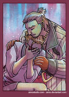PSC - Varric and Hawke by aimo