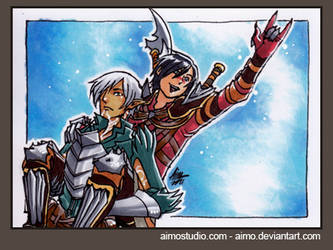 PSC - Fenris and Hawke by aimo