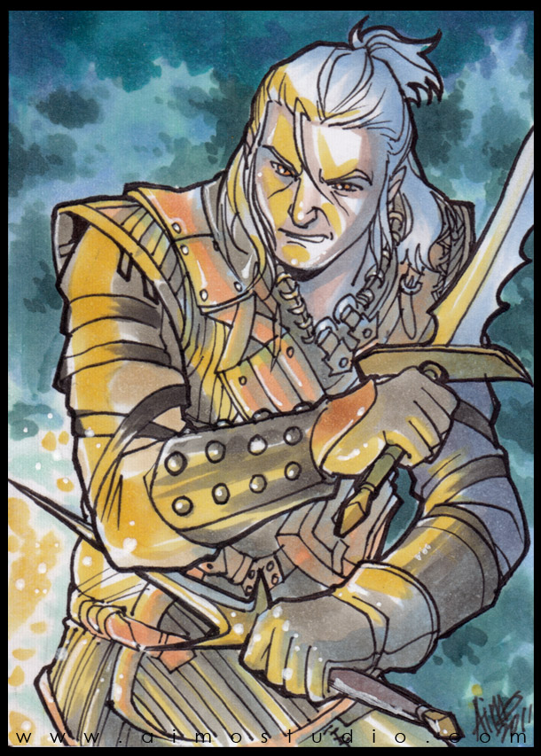 PSC - Geralt of Rivia by aimo