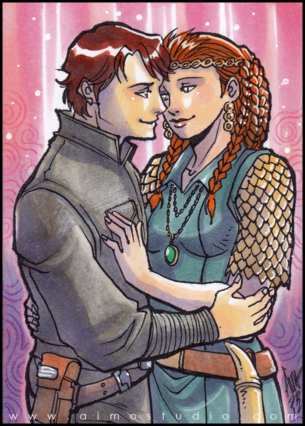 Psc Jacen Solo And Tenel Ka By Aimo On Deviantart