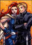 Galactic Files - Luke and Mara