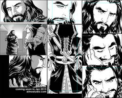 Untitled Comic Progress by aimo