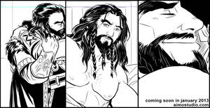 Untitled Comic Progress 2 by aimo