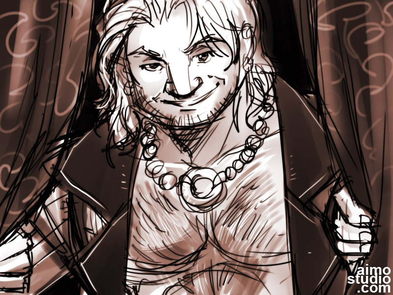 Varric, Objectified by aimo