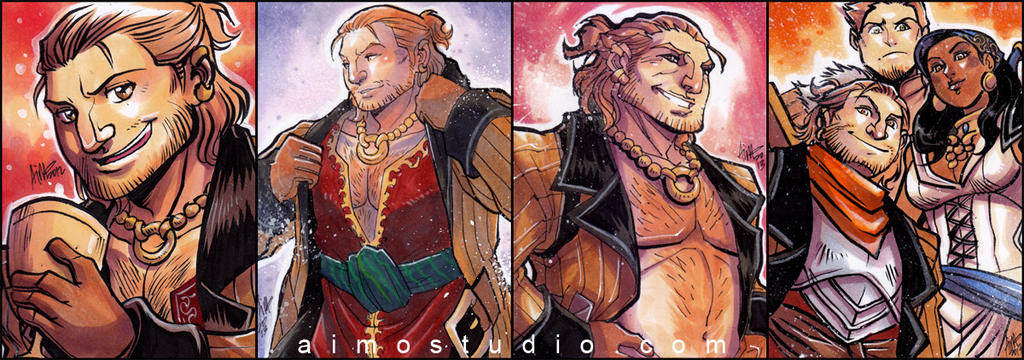 All About Varric (and Friends) by aimo