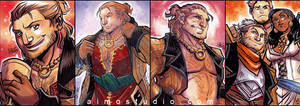 All About Varric (and Friends)