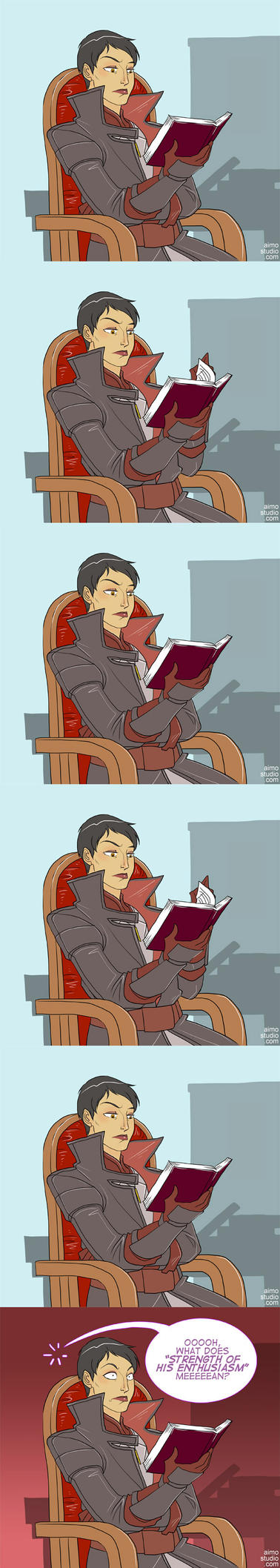 DA:I - Reading Time by aimo