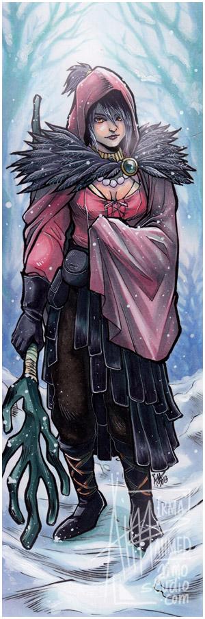 DA - Winter Witch by aimo