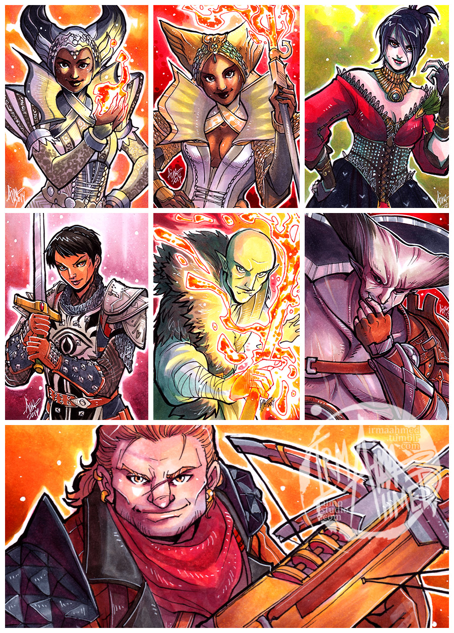 DAI - The Cast So Far by aimo