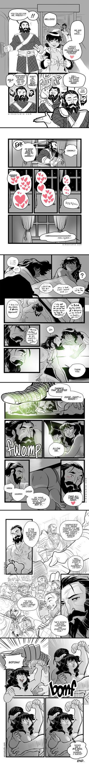 DAI - The Sock Saga by aimo
