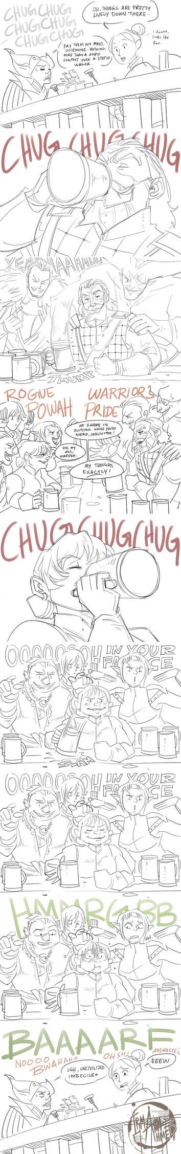 DA:I - Drinking Contest by aimo