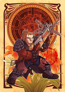 DAI - Decorative Heroes - Varric Tethras